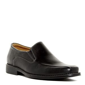 New Sandro Moscoloni Edwin Black Leather Loafer